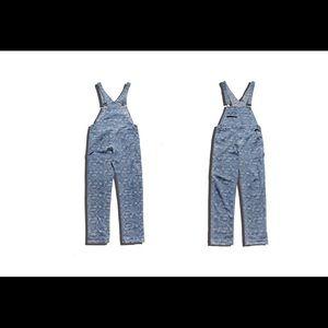 """bandanna"" overalls"